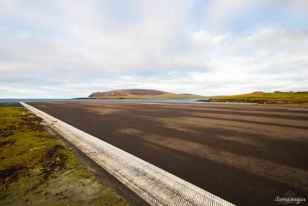 Aller à Shetland en avion