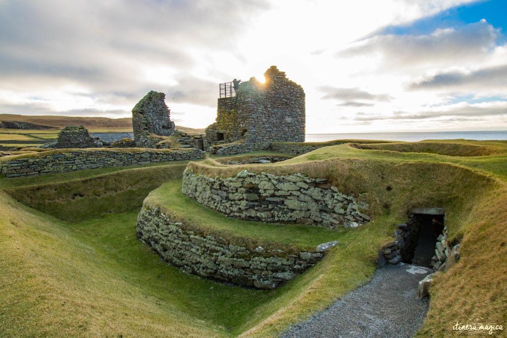 Jarlshof Shetland aller à Shetland