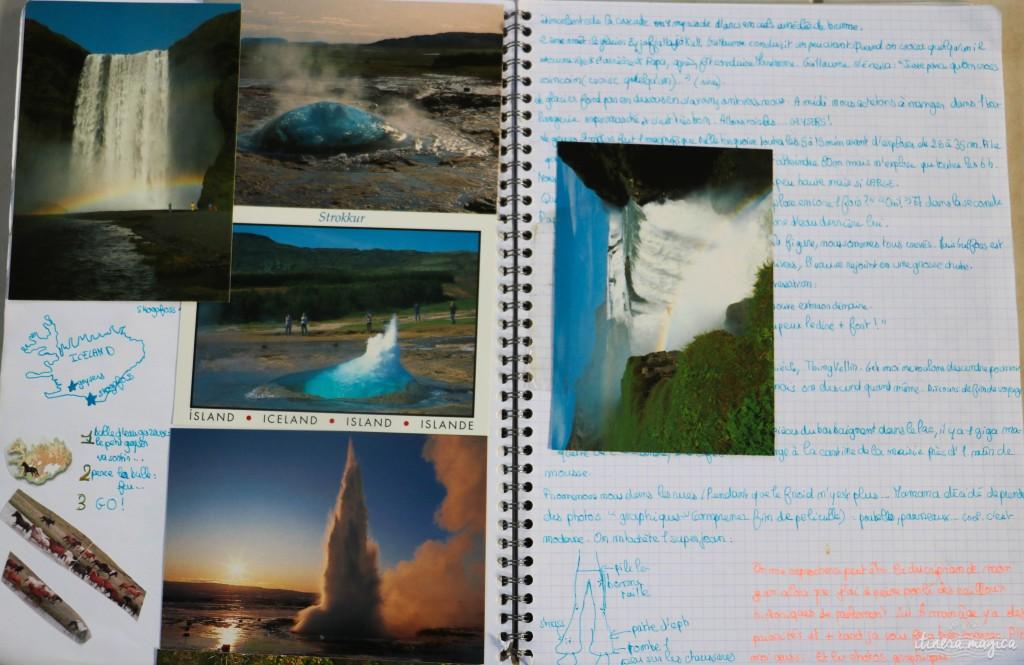 Cascades, geysers, féeries d'Islande.