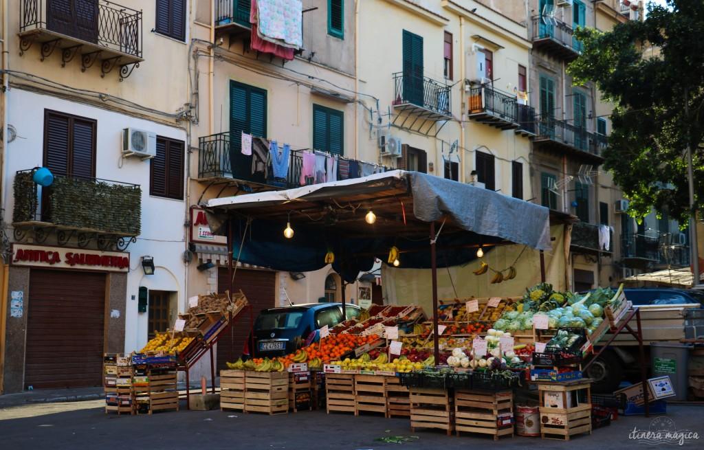Verkaufsstand in Palermo