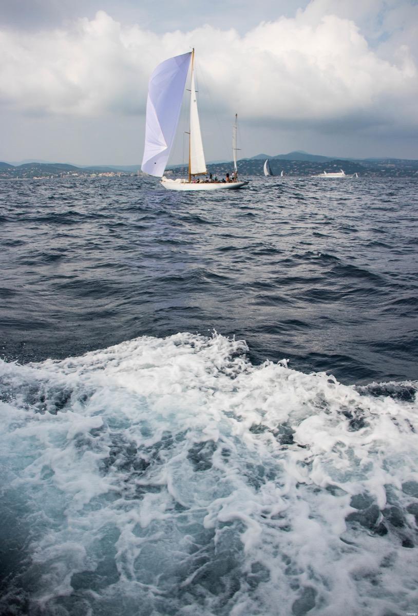 Sortie en bateau à Saint Tropez