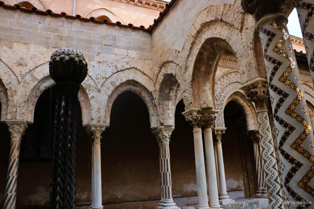 Im Kloster von Monreale