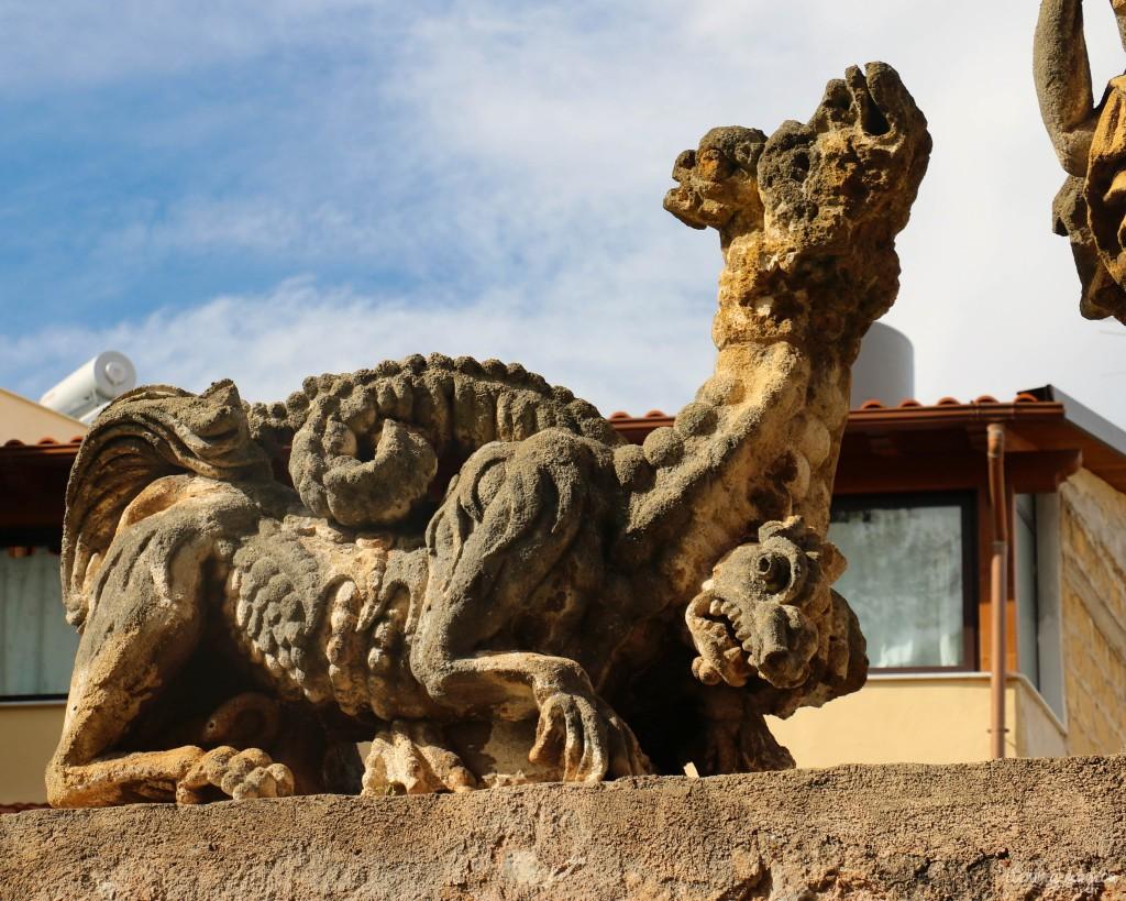 """Die barocke Villa Pallagonia in Bagheria wird auch """"Monstervilla"""" genannt."""