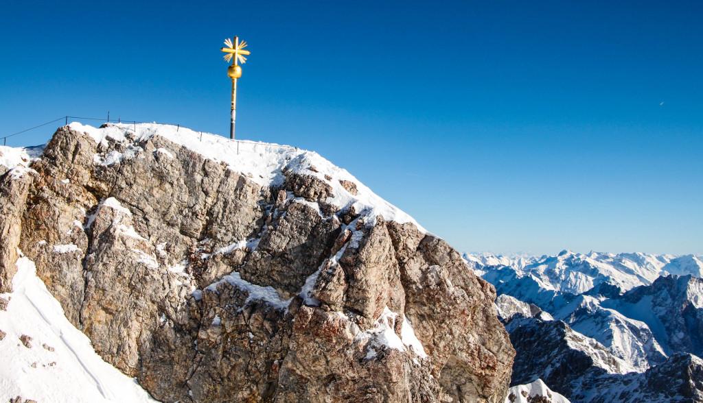 La croix du Zugspitze.