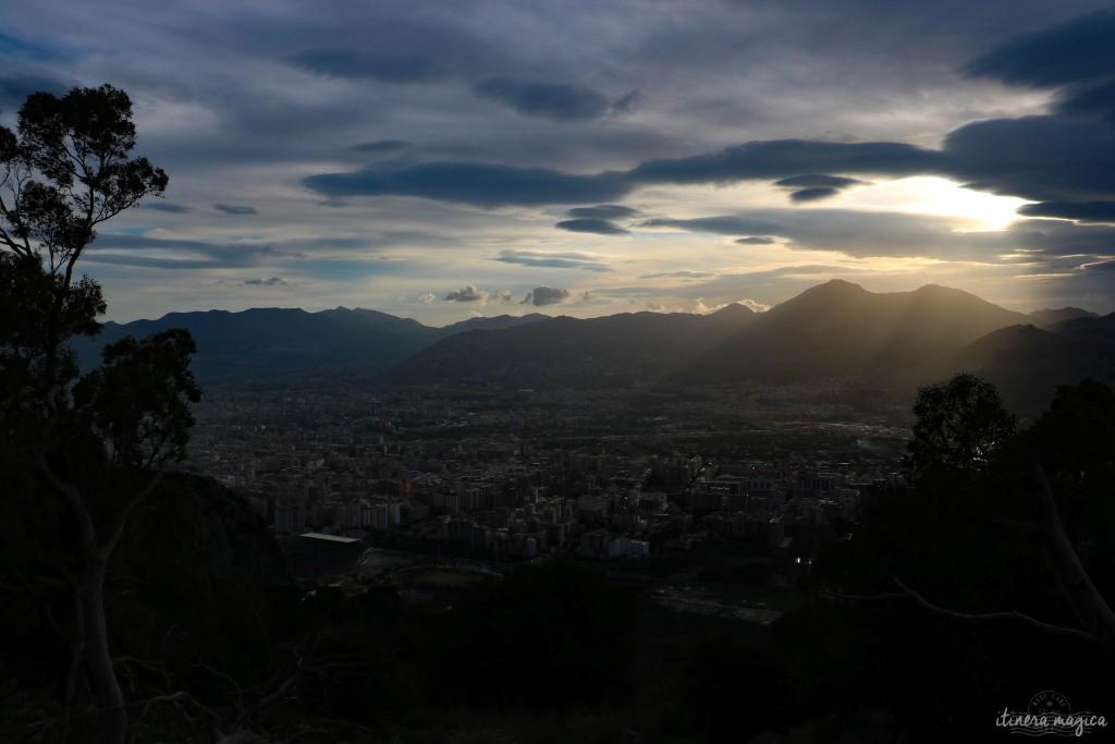 Auf dem Monte Pellegrino.