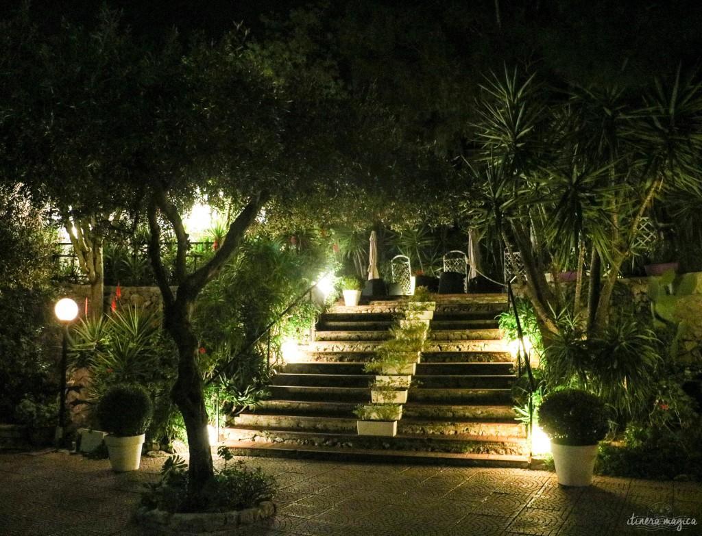 Die Villa Costanza, unsere beste kulinarische Erfahrung in Palermo.