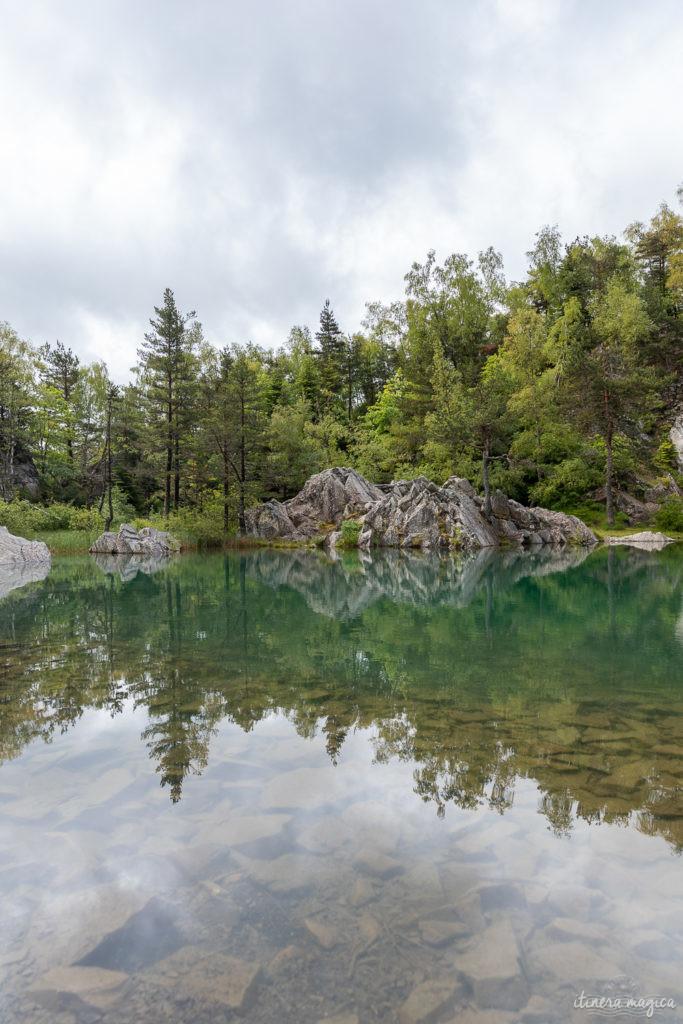 lac bleu champclause