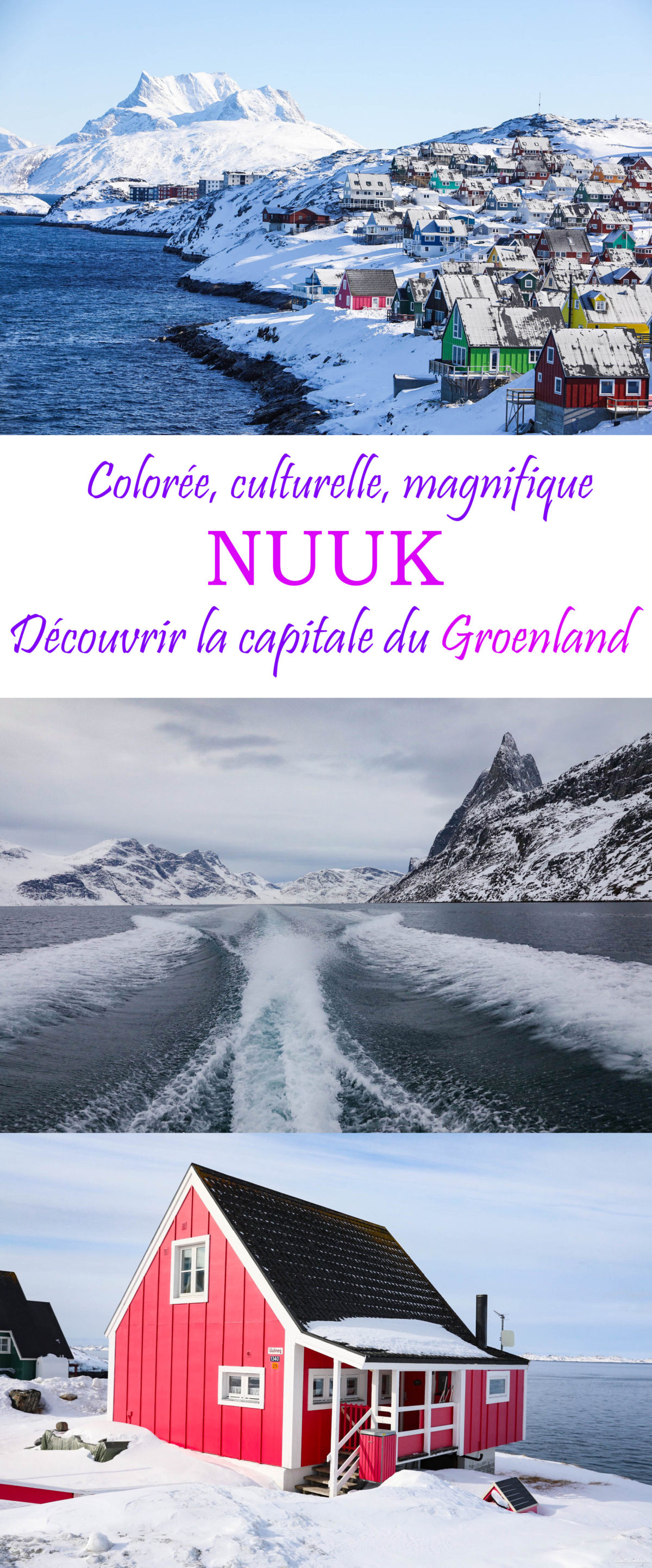 Découvrez la fabuleuse capitale du Groenland : Nuuk ! Colorée, culturelle, fabuleuse, Nuuk est l'incontournable d'un voyage au #Groenland.