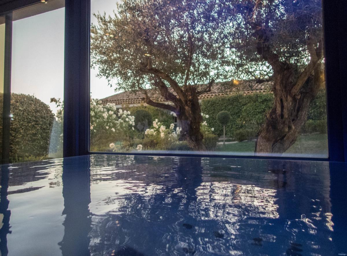 Hotel romantique avec piscine et spa à Forcalquier, haute provence.Week end romantique provence