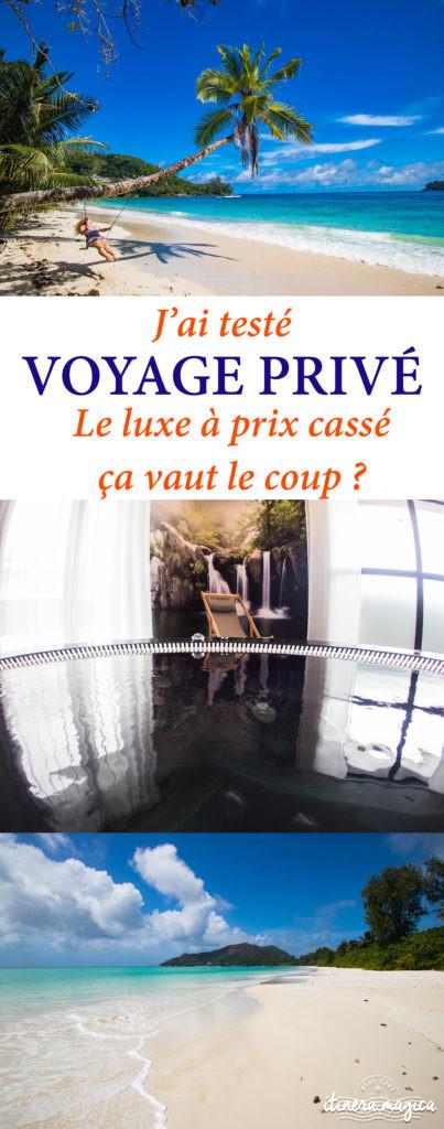 J'ai testé Voyage Privé, le luxe à prix cassé : ça vaut le coup ? Avis sur Voyge Privé