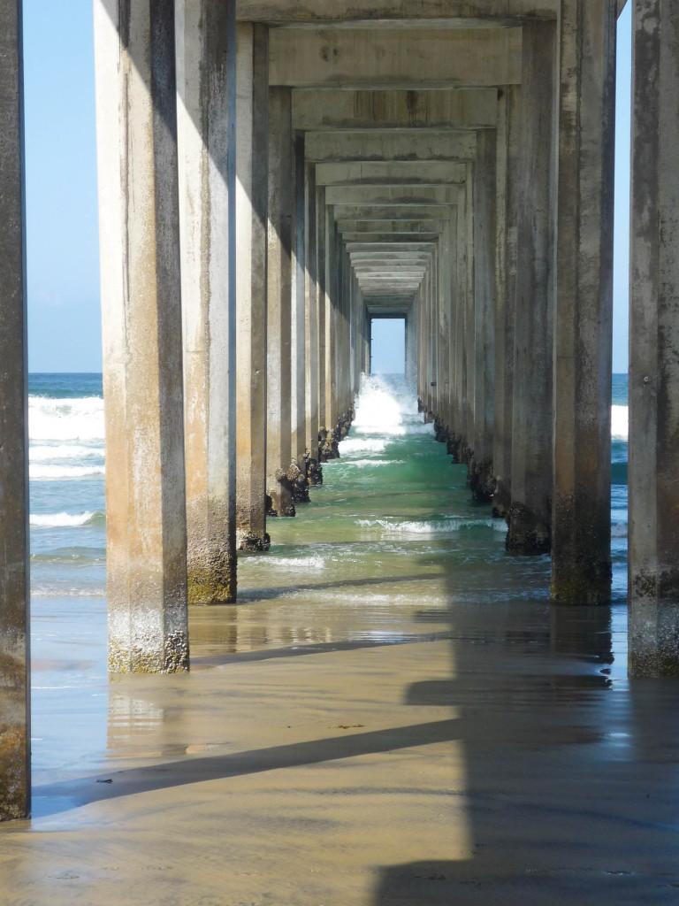 Quelque part dans un paradis sous vitrine, entre L.A. et San Diego - Del Mar, Laguna Beach, Newport Beach, je ne sais plus.