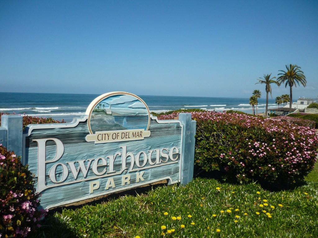Del Mar, entre Los Angeles et San Diego, un de ces endroits idylliques que cette côte produit à la chaîne - Newport Beach, Laguna Beach...