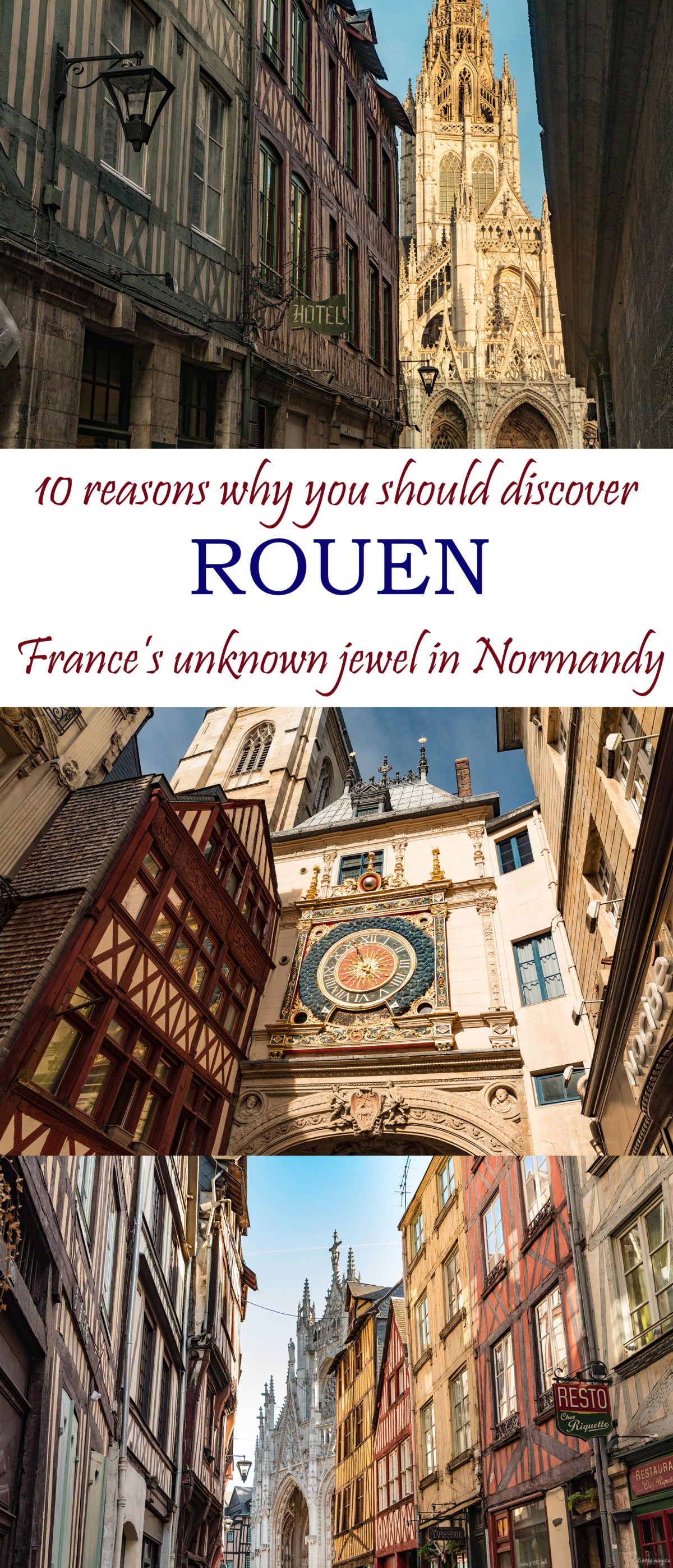 Discover Rouen, the unknown jewel of #Normandy, #France. 10 things not to miss in #Rouen.
