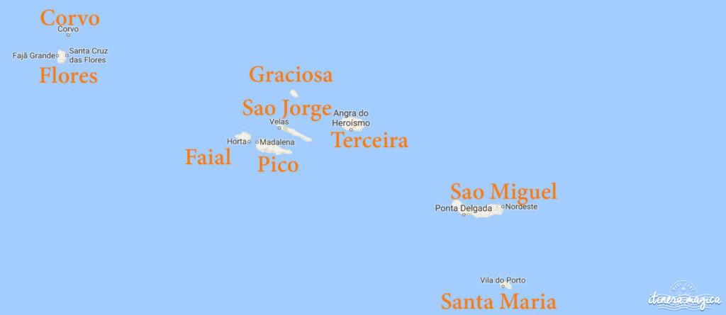 Découvrez les Açores.