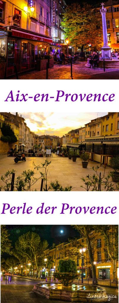 Entdecken Sie Aix-en-Provence, die Perle der Provence
