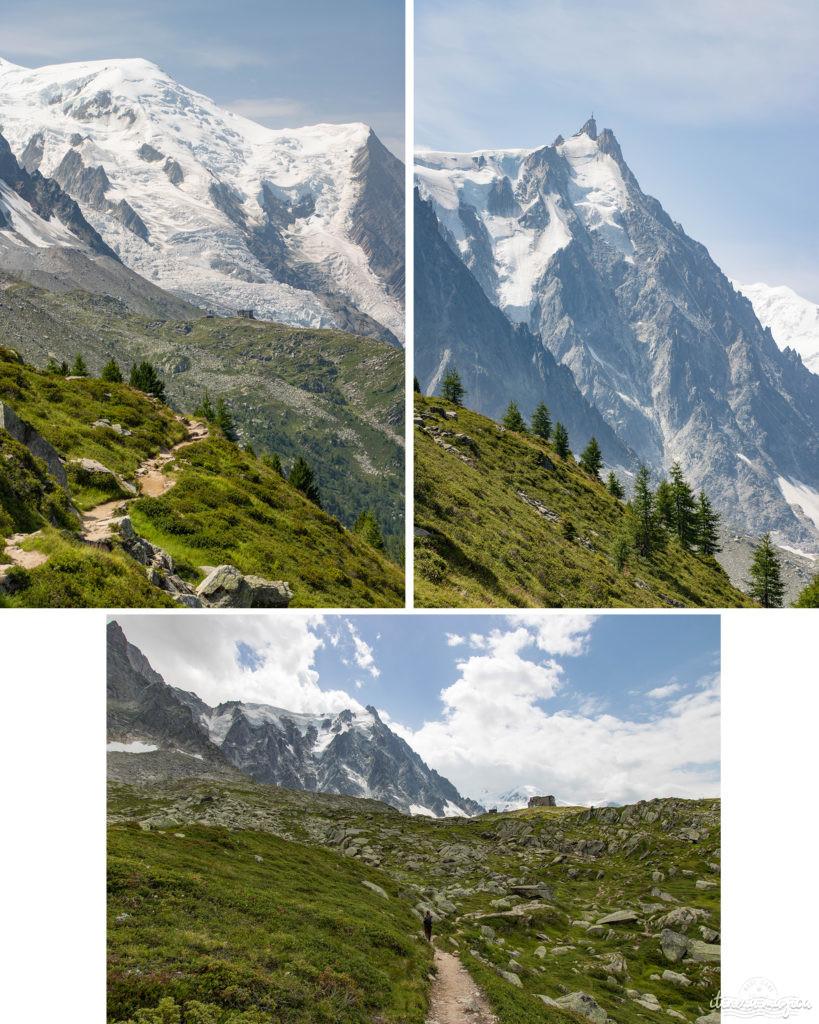 Glaciers de Chamonix. Aiguille du midi. Rando Chamonix. Week end à Chamonix