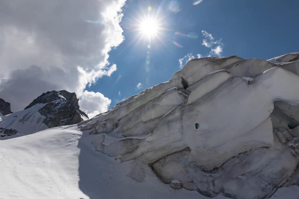 Première expérience d'alpinisme avec la compagnie des guides de Chamonix