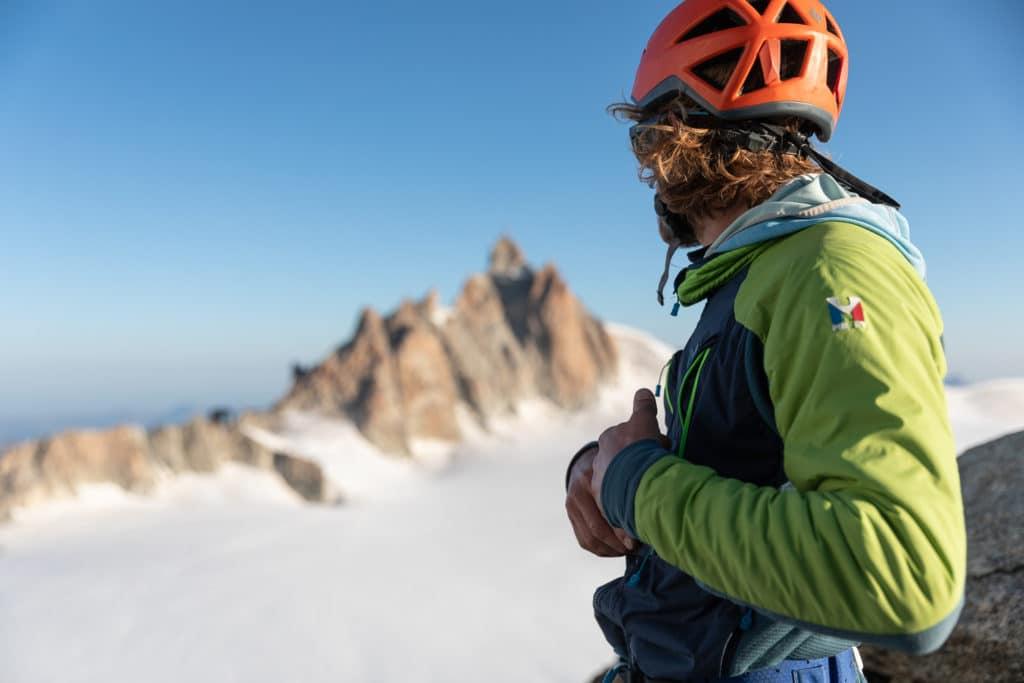 Récit d'une première fois en alpinisme dans la vallée blanche à Chamonix, pour les deux cent ans de la compagnie des guides de Chamonix