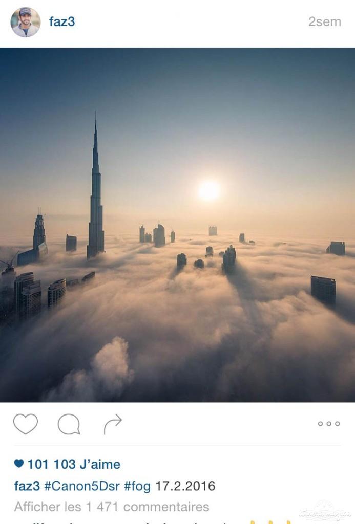 burj khalifa fazza dubaï