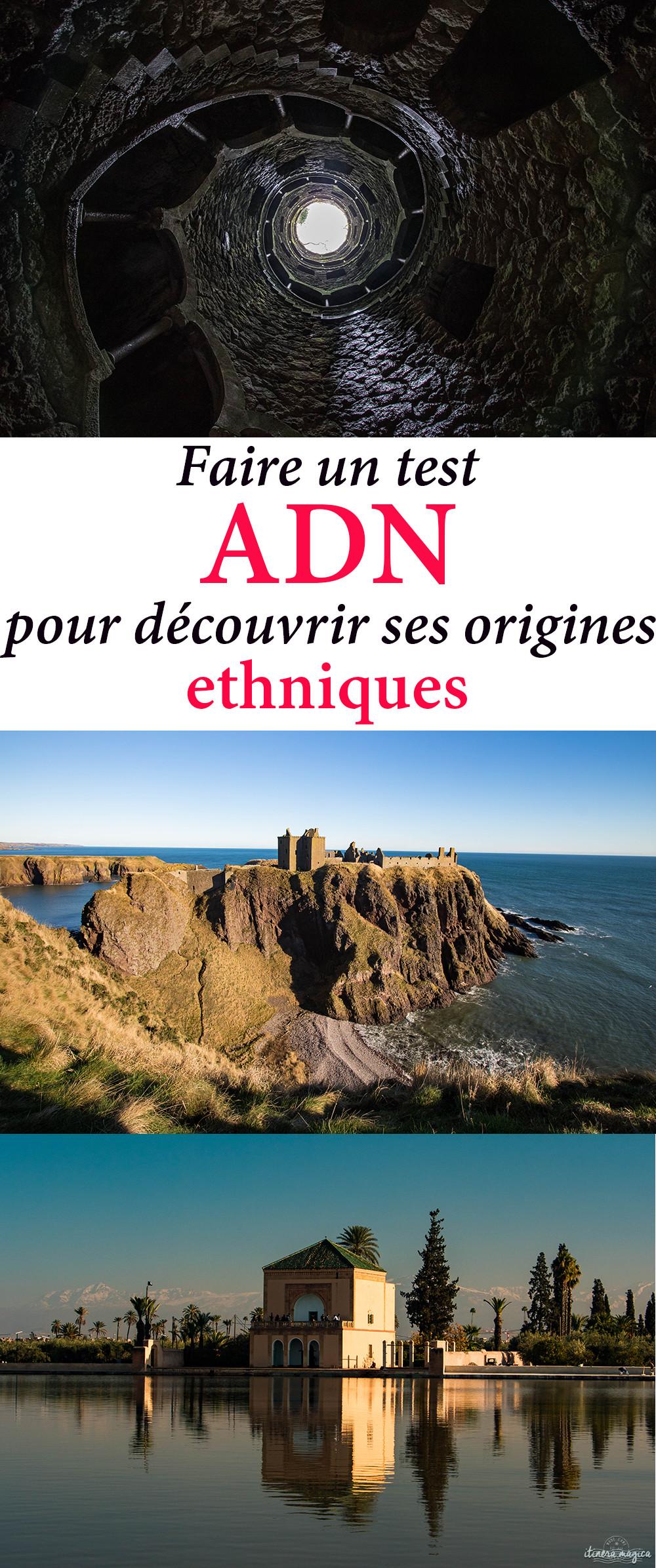 Faire un test ADN pour découvrir ses origines ethniques : j'ai testé. #ADN #voyage #origines