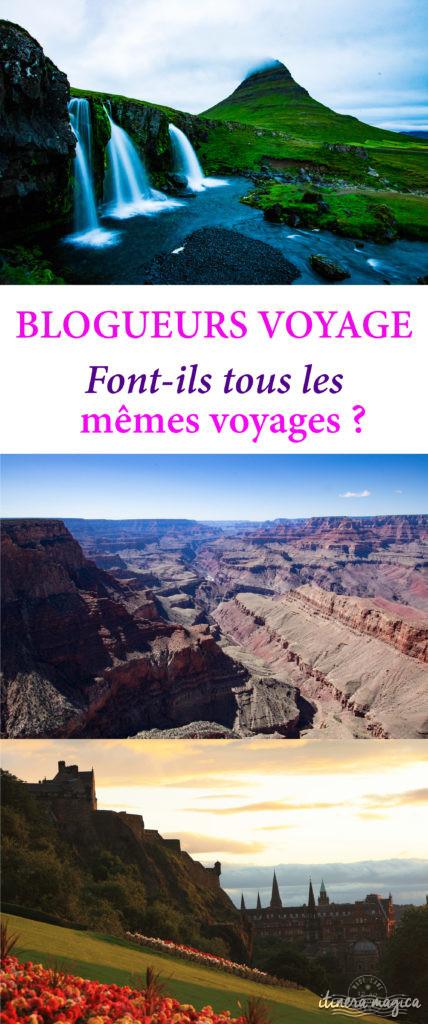 Les blogueurs voyage font-ils tous les mêmes voyages ? Blog et voyage et originalité
