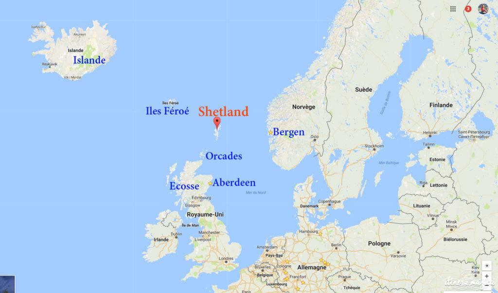 VOyage à Shetland sur les traces des vikings