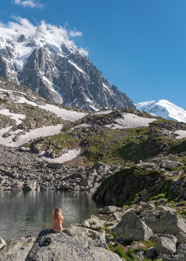 Que faire à Chamonix ? Randonnées à Chamonix : randonnée de la Jonction, du lac bleu, de la traversée des balcons nord...
