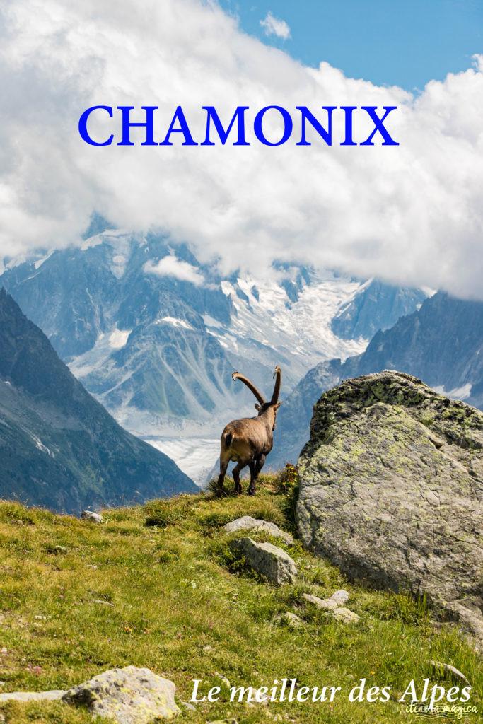 Chamonix : le meilleur des Alpes françaises. Blog sur les randos, les glaciers, les choses à voir à #Chamonix #Alpes