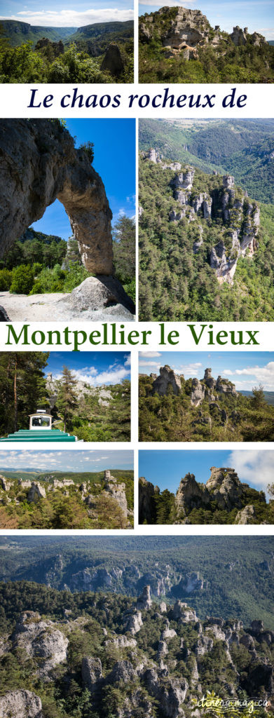 Que voir en Aveyron ? Le plus grand chaos rocheux d'Europe, Montpellier le Vieux