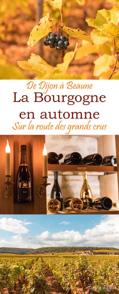 De Dijon à Beaune, prenons la route des vins de Bourgogne, entre grands crus et hôtels de luxe. Un séjour romantique au coeur de la Bourgogne