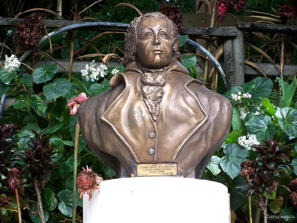 Buste de Delgrès à Matouba. Auteur LPLT, Wikipedia Commons.