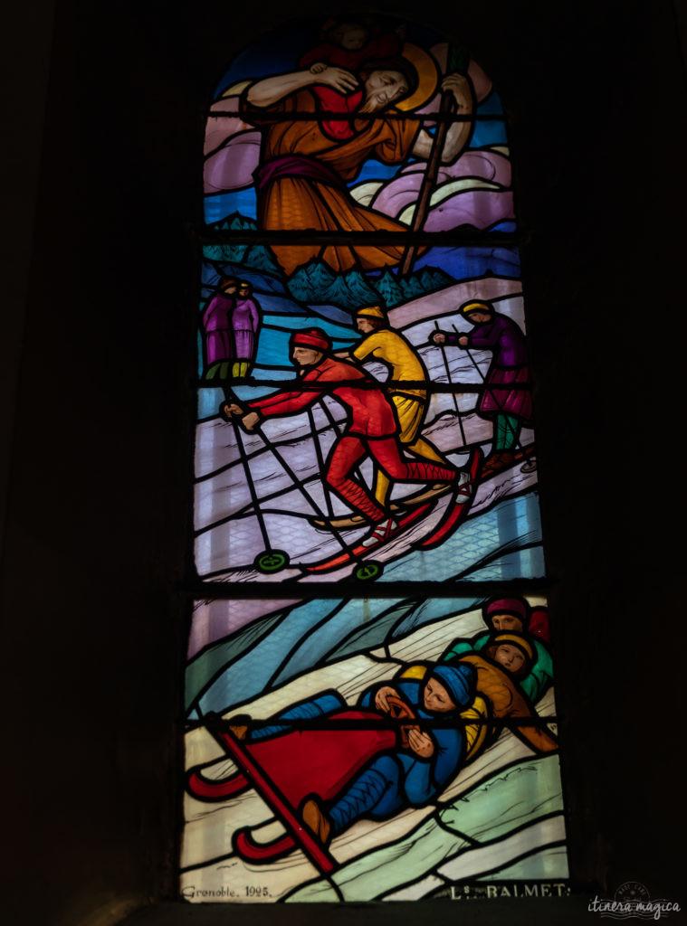 vitraux église