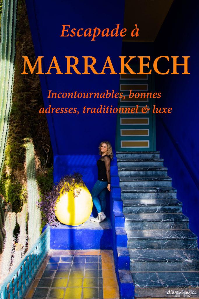 Que faire à Marrakech ? Le guide complet ! Incontournables, bonnes adresses, de l'authentique et du luxe. Tout pour une escapade à Marrakech