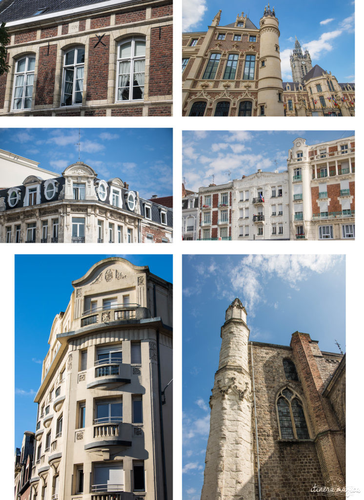 Façades de Douai. Que voir à Douai ? Blog Douai