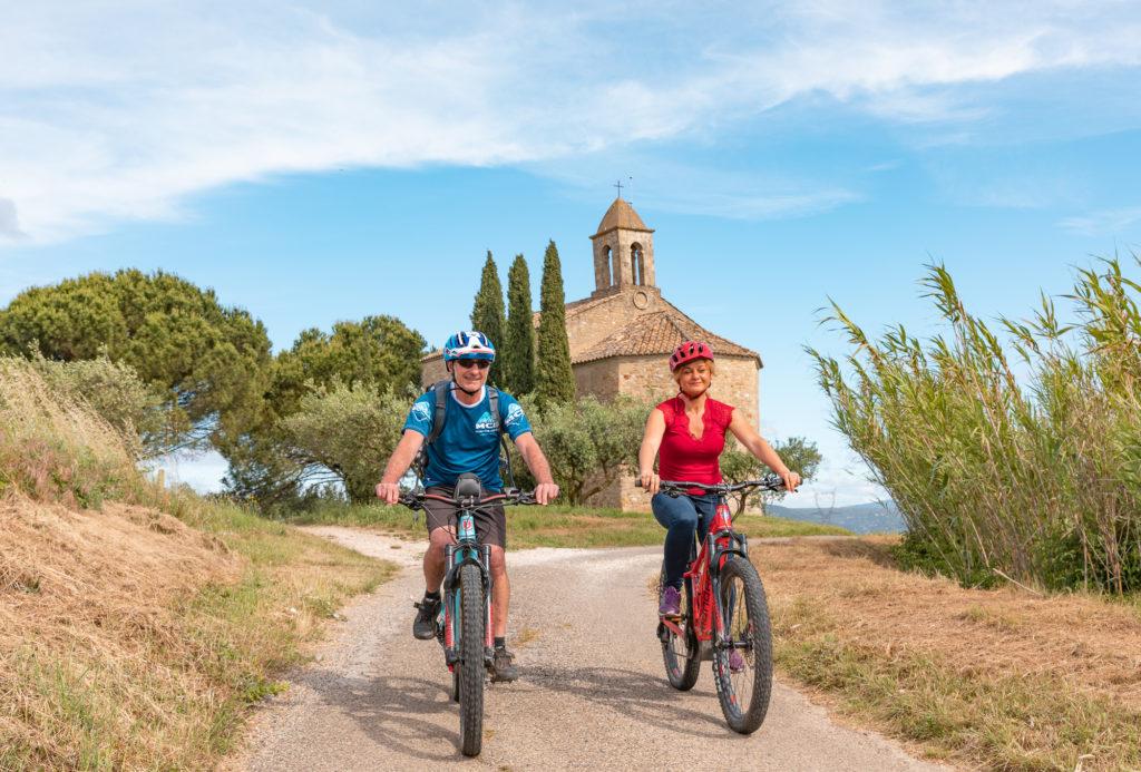 Que faire dans le Gard rhodanien, que faire en Provence occitane ?VTT dans le Gard