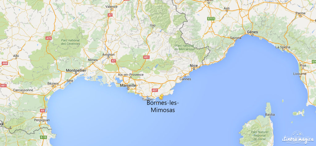 Bormes-les-Mimosas, Côte d'Azur