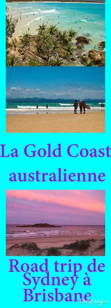 Découvrez les plages de rêve de la Gold Coast australienne, de Sydney à Brisbane.