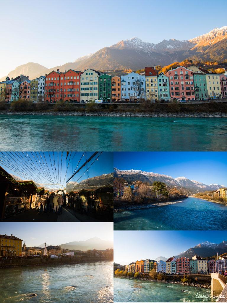 Innsbruck, Autriche. Itinéraire romantique en Autriche : un voyage de rêve entre Salzbourg, Innsbruck, le château Hohenwerfen, les cascades de Krimml et un hôtel spa romantique.