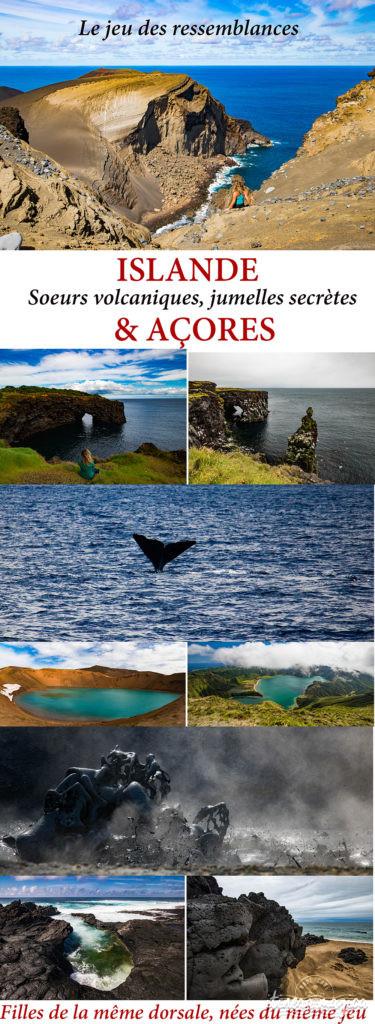 Islande et Açores : saviez vous qu'elles se ressemblent autant ? Les soeurs cachées, filles du même feu !