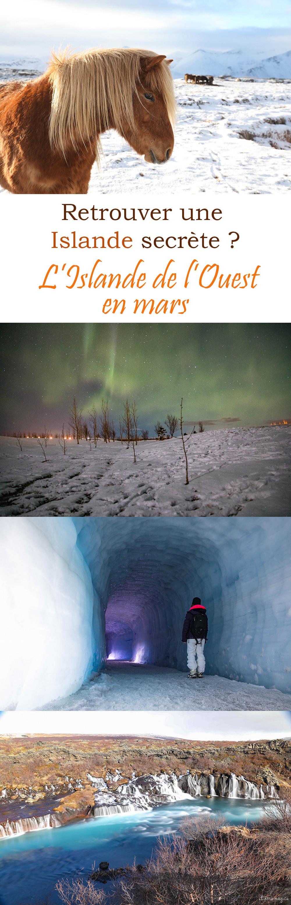 L'Islande sans touristes ? Partez en Islande de l'Ouest en mars : paysages sublimes, glaciers, volcans, cascades, chevaux et solitude !
