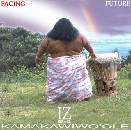 Facing Future, l'album le plus célèbre d'Iz, que j'ai écouté en boucle durant mon dernier séjour hawaïen
