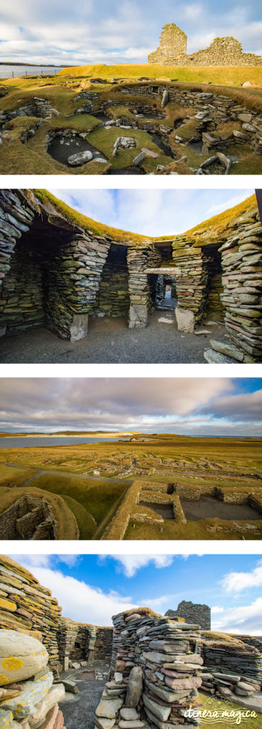 Jarlshof, à Shetland : site archéologique viking exceptionnel