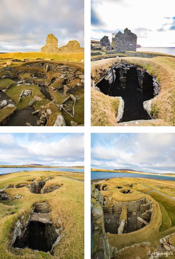 Le Jarlshof, incontournable aux îles Shetland. Blog Shetland. Que voir à Shetland. Voyage Shetland