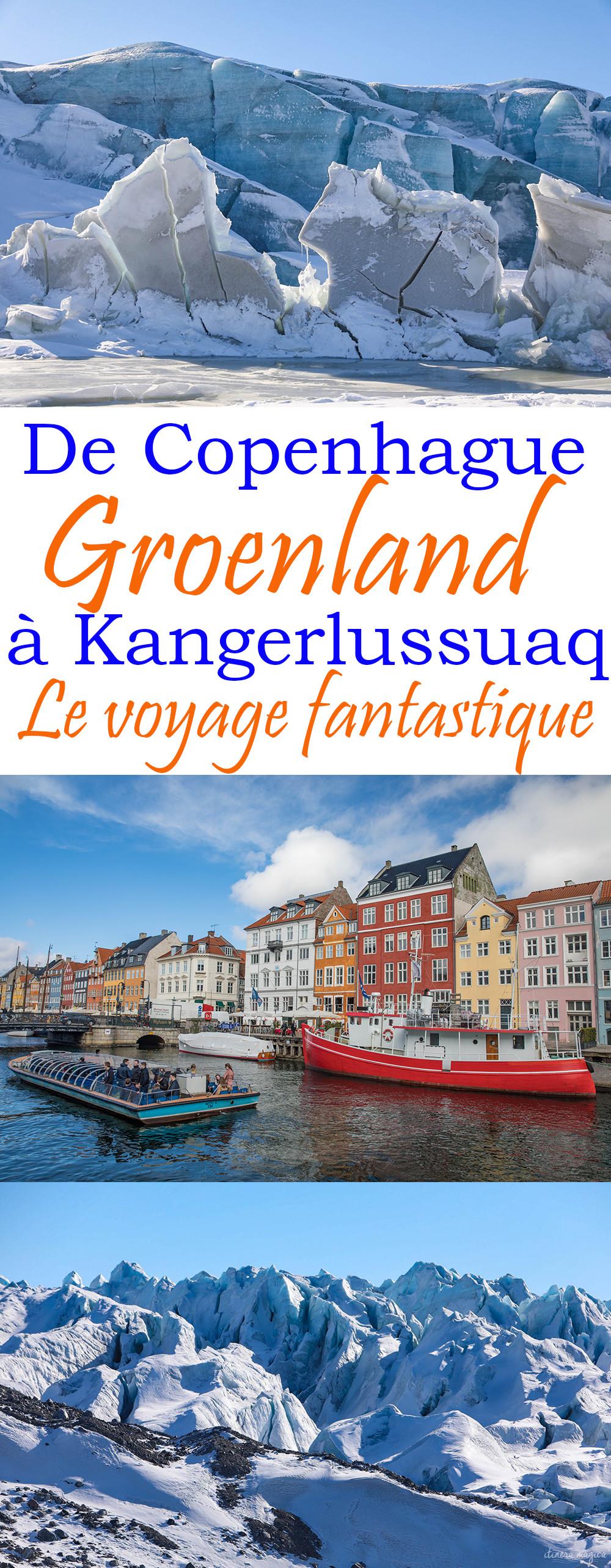 Aller au Groenland : le voyage d'une vie, de Copenhague à Kangerlussuaq. Une aventure dans le grand nord.