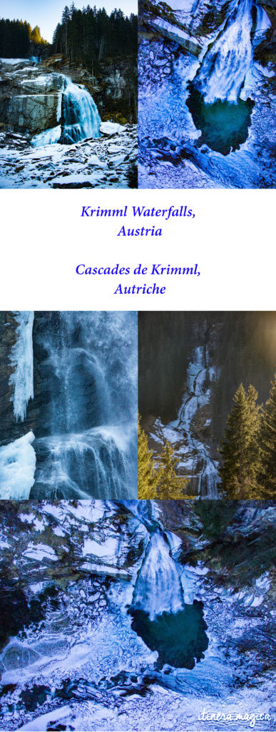 Krimmler Waterfalls. Planning the perfect winter trip to Austria? Best experiences and things to see in the Austrian Alps.