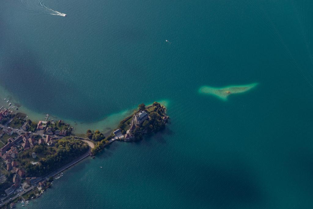 vol en parapente lac d'annecy