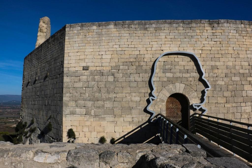 Das Schloss des Marquis de Sade.