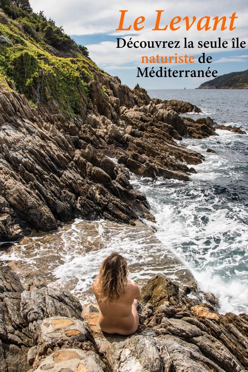 Découvrez l'île naturiste du Levant, un paradis secret au large de Hyères. #provence #paca #hyeres #iledulevant #naturisme