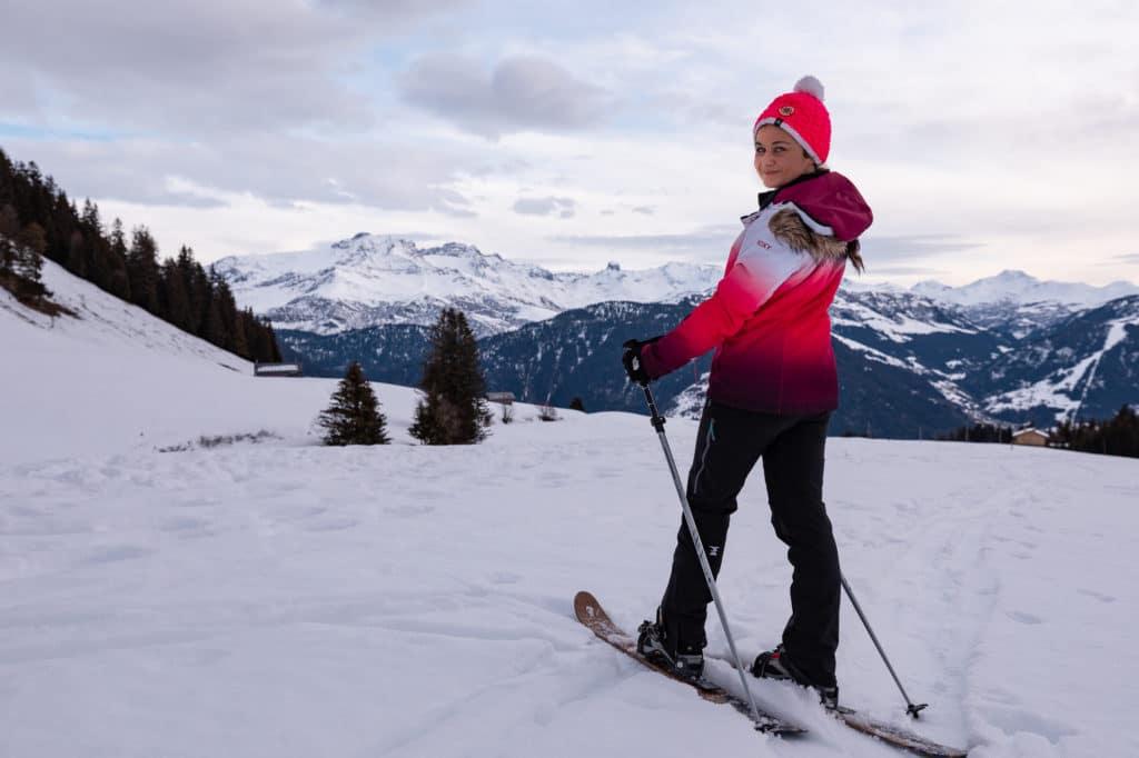 ski raquettes ski hok les saisies