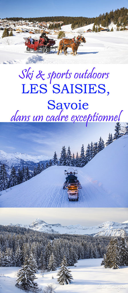 Les Saisies en Savoie : ski et activités outdoor dans un cadre exceptionnel.